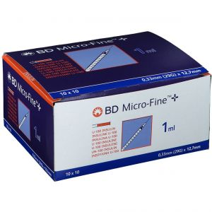 BD Micro-fine + U-100 Insulin 0,33 mm x 12.7 mm