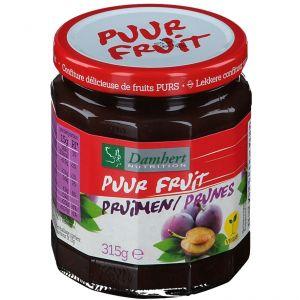 Damhert Puur Fruit Confiture Prune 100 % Sans Sucre