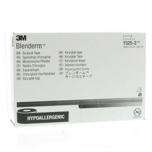 3M Blenderm Pansement Adhésif Chirurgical 5cm x 4,57m 1525/2 6 pc(s)
