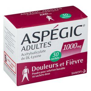 Aspégic® Adultes 1000 mg 30 pc(s)