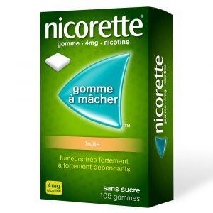 Nicorette® fruits s/s 4 mg