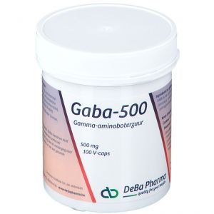 Deba Pharma Gaba 500 Mg 100 pc(s)