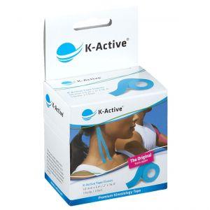 NAQI® K-Active® Tape Classic 5 cm X 5 m Bleu pc(s) bandage(s)