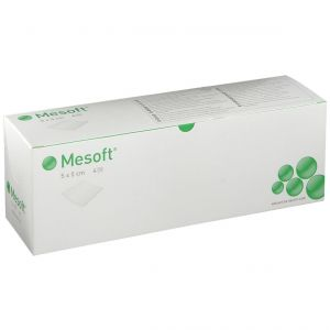 Mesoft Compresse Stérile 4 Couches 5x5 cm 156065 pc(s) compresse(s)