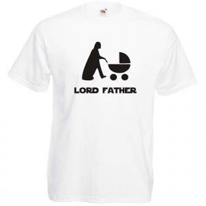 T-shirt original : LORD FATHER - Blanc L