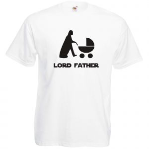 T-shirt original : LORD FATHER - Blanc S