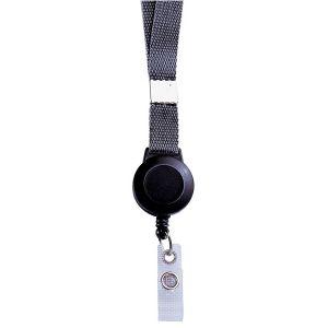 Cordon + zip intégré porte-badges