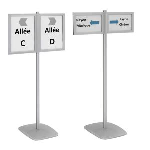 Info-Displays® double-face 2 x A3