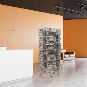 Tourniquet rotatif journaux 40 cases