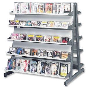 Gondole double-face Musirack® 10 étagères + accessoires