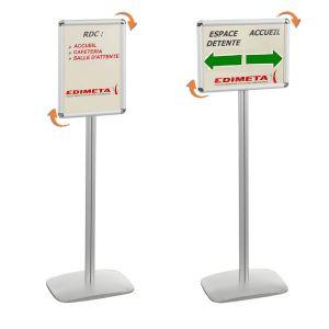 Porte Affiche Pied Comparer Offres - Porte affiche sur pied
