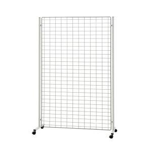 Panneau grille H 200 X L 110 cm sur pieds à roulettes