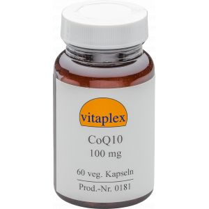 CoQ10 100 mg (60 capsules végétales) - Vitaplex