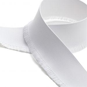 Elastique jupette 60mm - Blanc