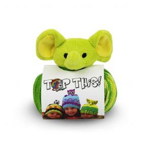 Bonnet à tricoter Top This éléphant