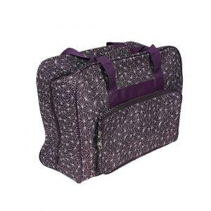 Sac machine à coudre origami violet