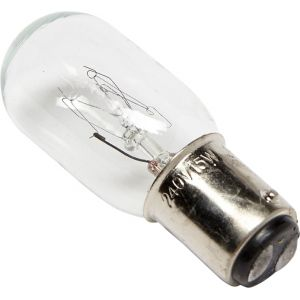 Ampoule 15x/240v baionnette moyenne (modele 22/6)