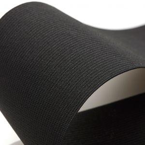 Élastique maille pour ceinture 80 mm - noir