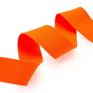 Élastique 40 mm orange fluo