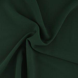 Tissu crêpe lourd vert foncé