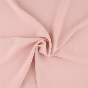 Tissu crêpe lourd rose nude
