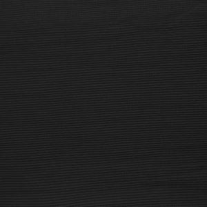 Tissu voile fin plissé noir
