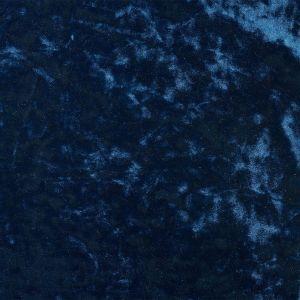 Tissu velours frappé bleu marine