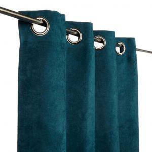 rideau bleu canard comparer 112 offres. Black Bedroom Furniture Sets. Home Design Ideas