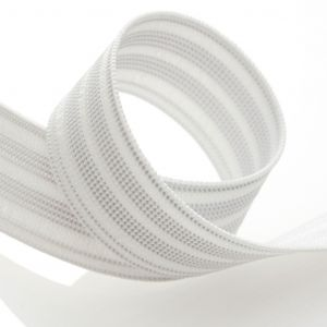 Élastique caleçon 25 mm - blanc