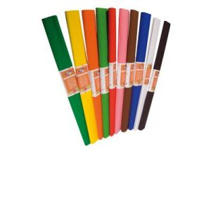 700029C - Rouleau de papier crépon 40% Bagué, 32 g/m², 2,50m x 0,50m, coloris noir
