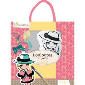 PP023O - Les Louloutes à peindre, Lucia
