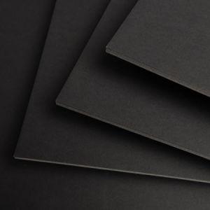 400037740 - Feuille Carton Plume® 50x70 5mm, noir