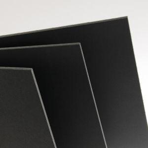 205154328 - Feuille Carton Plume® 70x100 5mm, noir