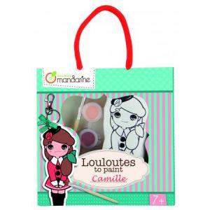 42781O - Les Louloutes à peindre, Camille