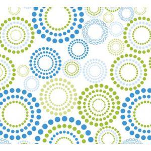 254599C - Rouleau de film fleuriste polypro transparent imprimé, 35µ, 2m x 0,70m, coloris assortis (5 décors Fantaisie)