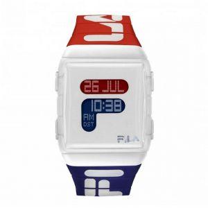 Montre Fila 38-105-005 - Montre Résine Bleu 36 mm Homme,Femme