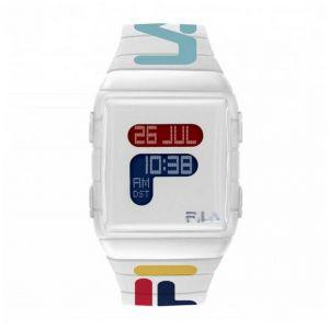 Montre Fila 38-105-007 - Montre Résine Blanc 36 mm Homme,Femme