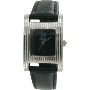 Montre Lola Carra LC120-7 - Rectangulaire Acier Noire Femme