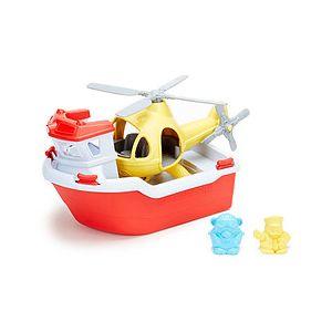 Jeu de Bain Bateau de Sauvetage et Hélicoptère