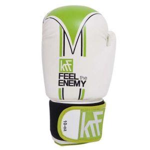 Gants de combat Transpirable Hand Palm Training - White - Taille 10 oz
