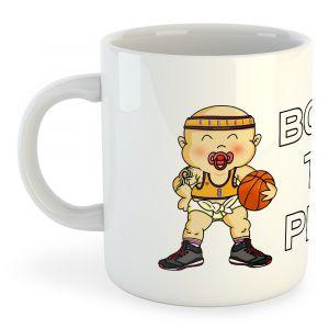 Born To Play Basketball - White - Taille 325 ml (11 oz)