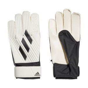 Gants de gardien de foot Tiro Club Junior - White / Black - Taille 5 1/2