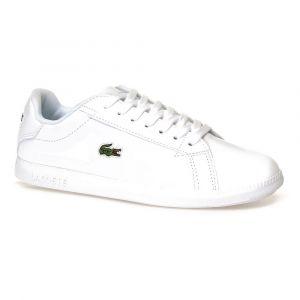 Lacoste Graduate Tonal Leather EU 38 White / White - White / White - EU 38