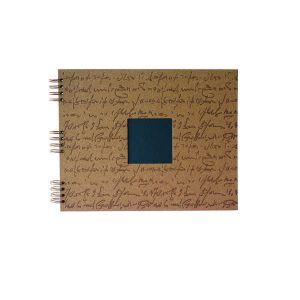 Album photo à spirale Scribe Marron 35x28cm - 30 feuillets noirs 250gr - F023063
