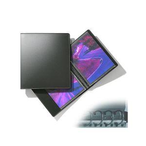 Classeur à anneaux RUN + 10 pochettes Cristal Laser - 28x35cm