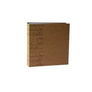 Album photo à pochettes Scribe Marron 22x25cm - 200 vues 11,5x15 - F023215