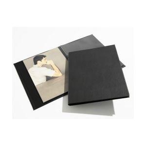 Book à spirale MODEBOOK + 12 pochettes Polypropylène Cristal Laser - 24x32 - 1492432