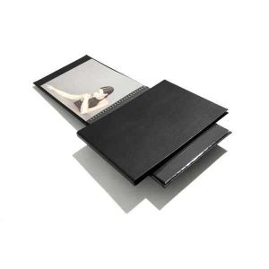 Book rechargeable à spirale Modebook Paysage + 10 pochettes polyester - 24x32cm