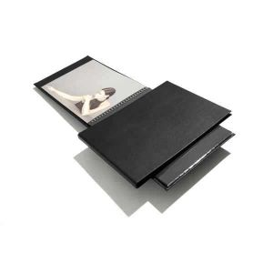 Book rechargeable à spirale MODEBOOK Paysage + 10 pochettes polyester - 21x30cm