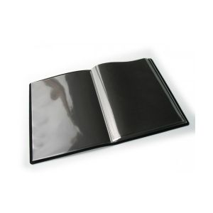 Book à pochettes cousues PAMPA, 20 pochettes polypropylène - 24x32cm